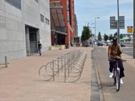Image for fietsenrek tour de france, 2010