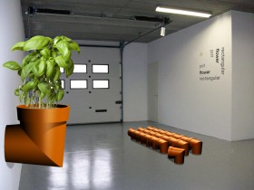 Image for haakse bloempot, 2008