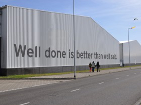 Image for well done is better than well said, 2009
